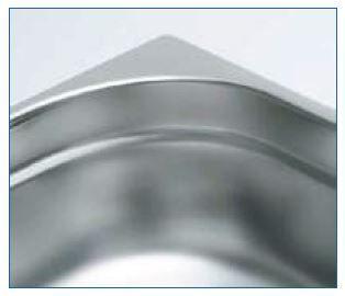 Gastro nádoba EKO - 1/2 100 mm