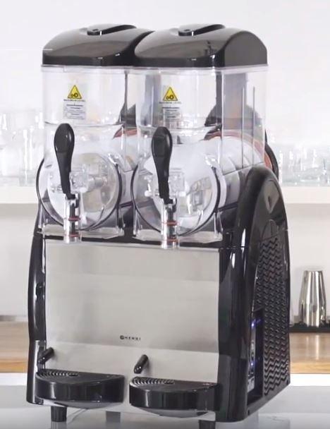 Výrobník ledové tříště 2 x 12 L