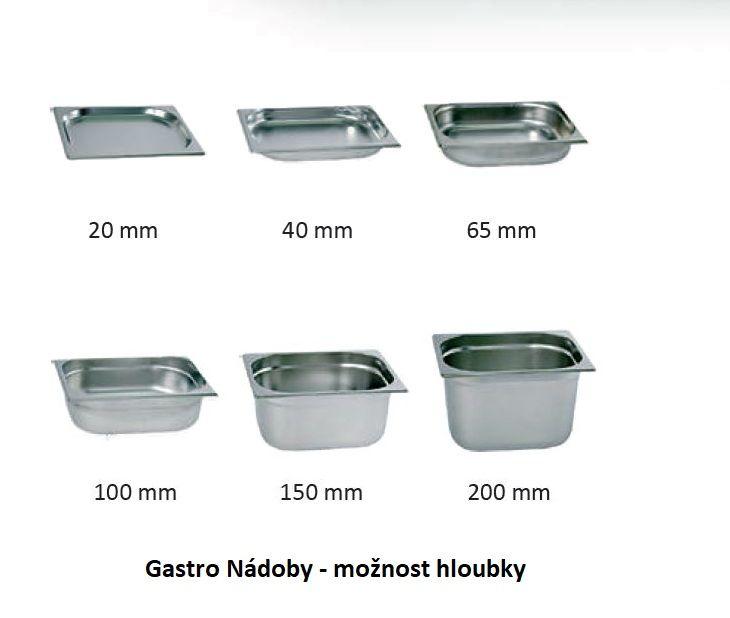 Gastro nádoba EKO - 1/1 200 mm
