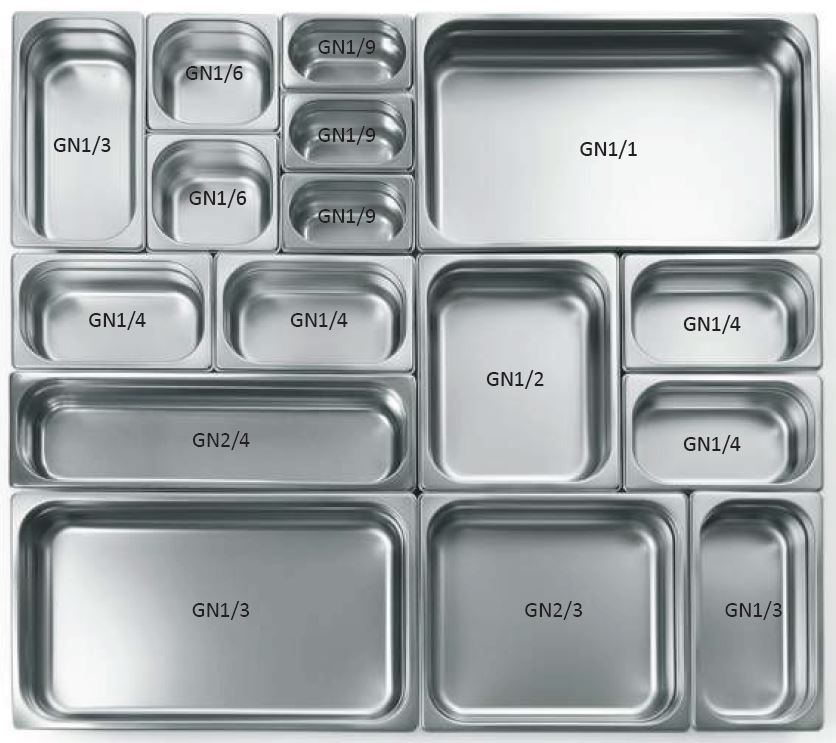 Gastro nádoba EKO - 1/2 200 mm