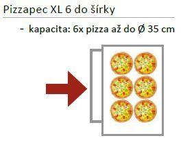 Pizza pec EKO 6 x pr. 35 cm
