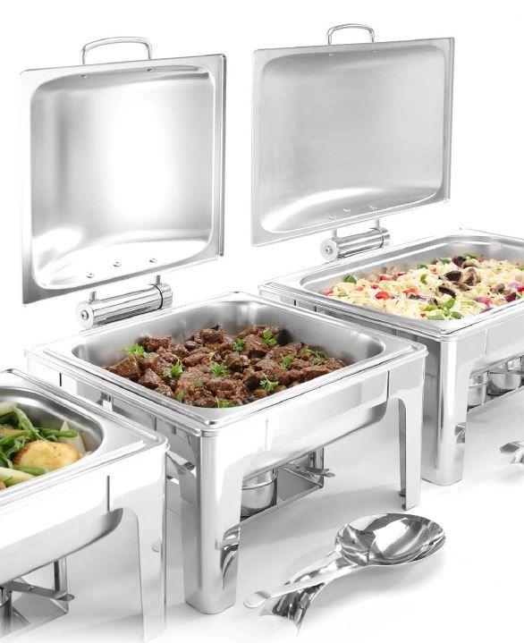 Chafing Dish PROFI leštěný – GN 2/3