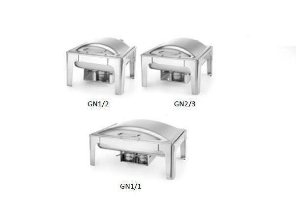 Chafing Dish PROFI leštěný – GN 1/2