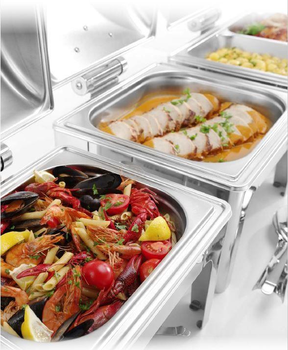 Chafing Dish PROFI matný – GN 1/1