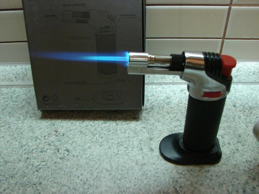 Flambovací hořáček 2+1