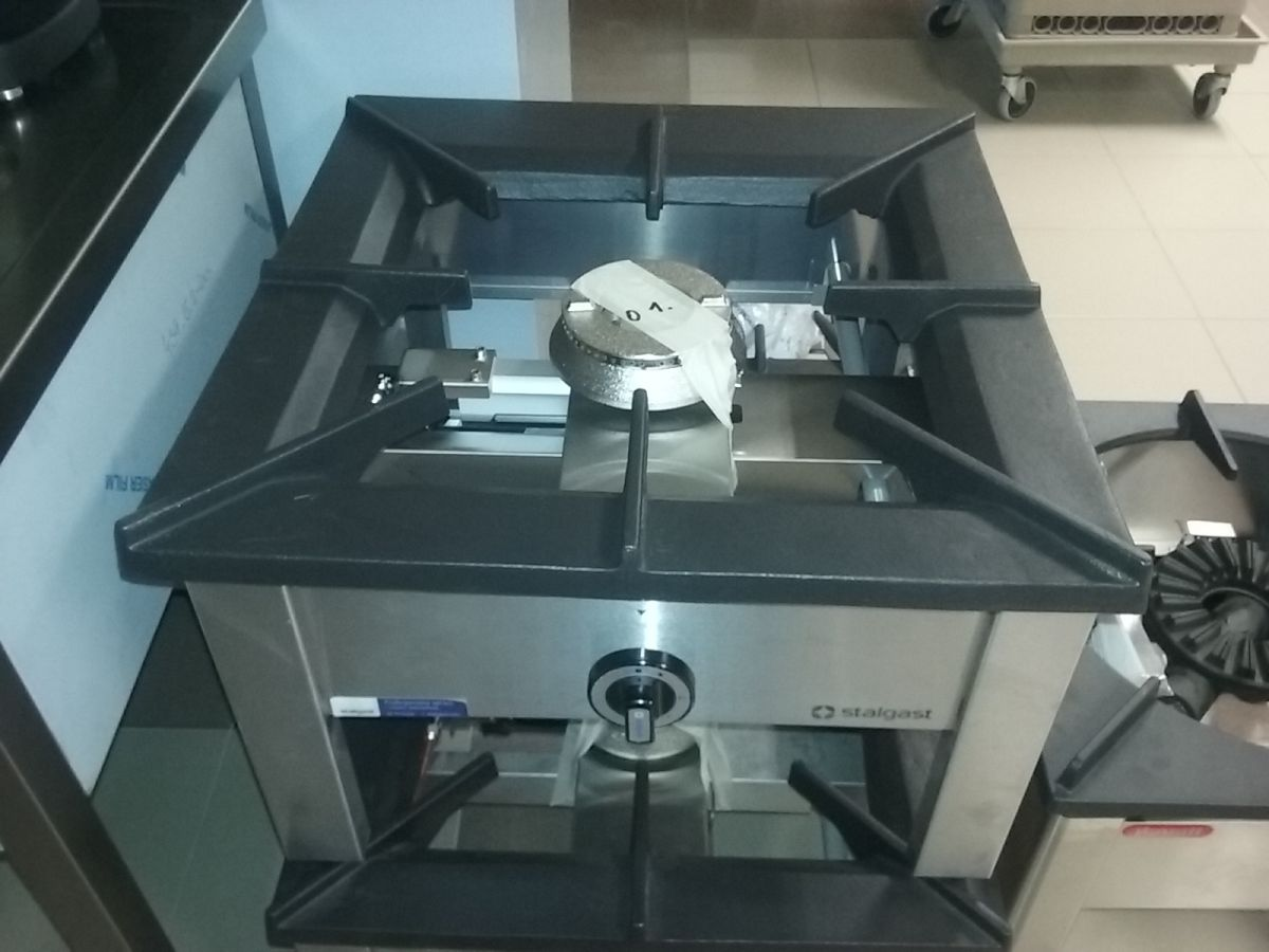 Plynová stolička 9 kW