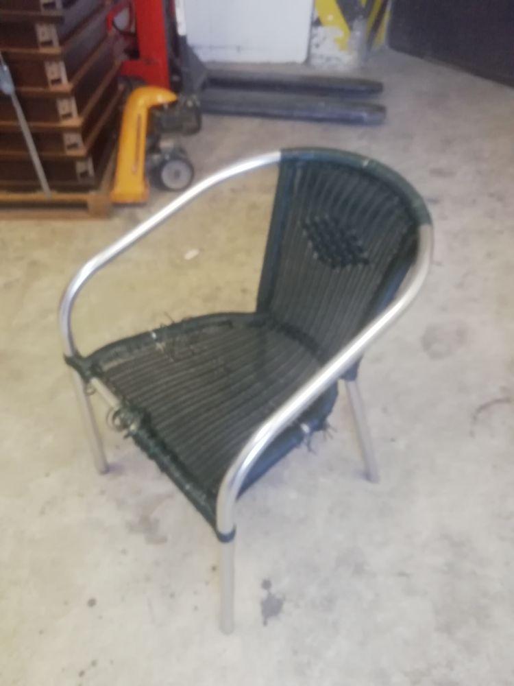 Židle hliníková na zahrádku