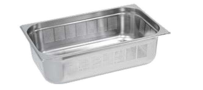 Gastro nádoby PERFOROVANÉ - 1/1 100 mm