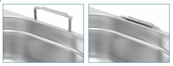 Gastro nádoby PROFI s úchyty - 1/6 200 mm