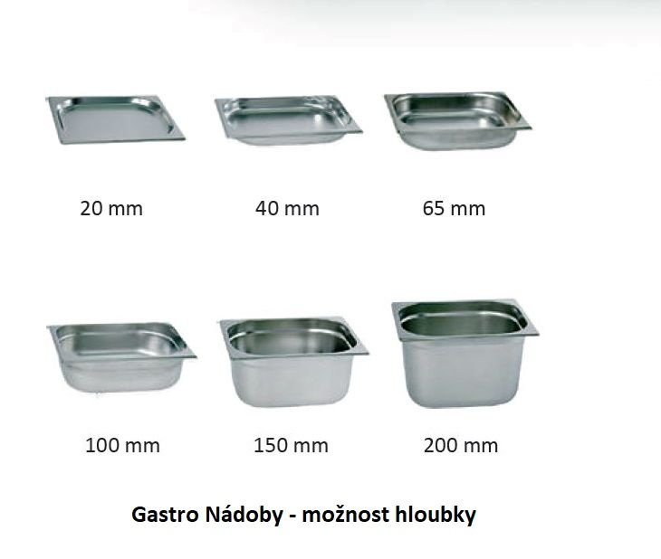 Gastro nádoba EKO - 1/1 100 mm