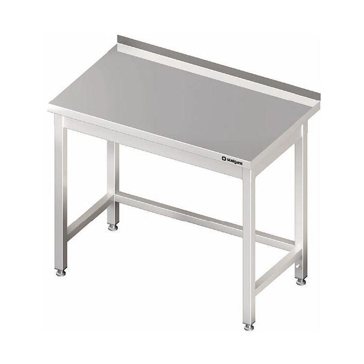 Nerezový stůl bez police 700 x 800