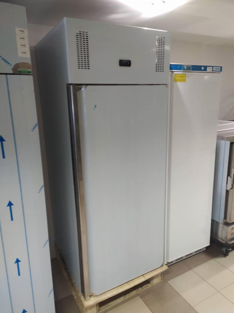 Nerezová skříňová lednice 650 L - novinka