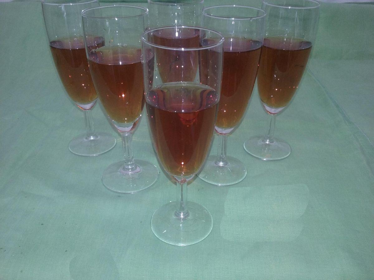 Skleničky na víno - šampus