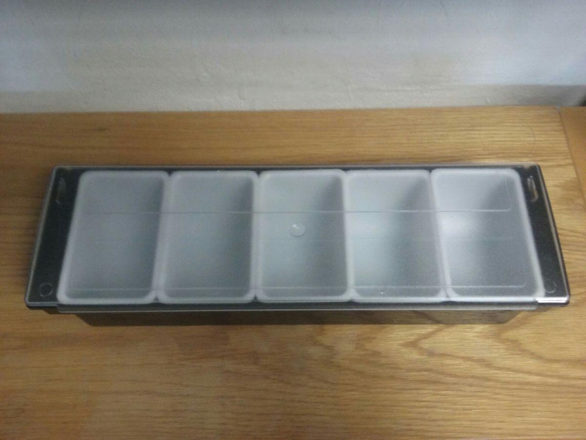 Nádoba 5 x box na koření a přísady
