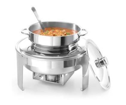 Chafing Dish PROFI leštěný – na polévku