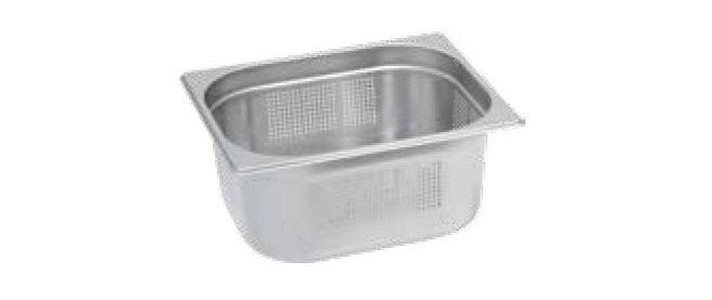 Gastro nádoby PERFOROVANÉ - 1/2 150 mm