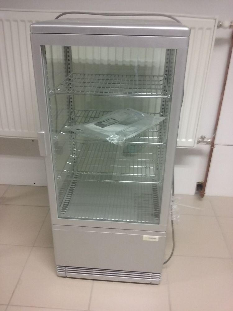 Universální vitrína EKO 78 L - stříbrná
